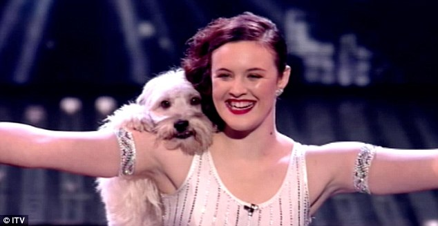 ashleigh and pudsey what breed of dog